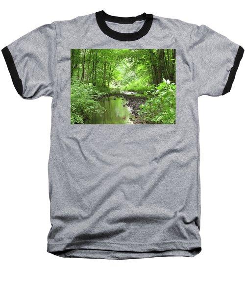 Baseball T-Shirt featuring the photograph Carver Creek by Kimberly Mackowski