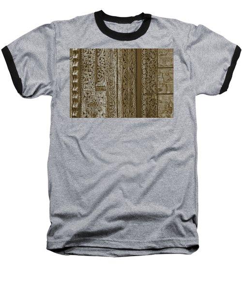 Carving - 1 Baseball T-Shirt by Nikolyn McDonald