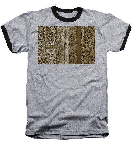 Carving - 2 Baseball T-Shirt by Nikolyn McDonald