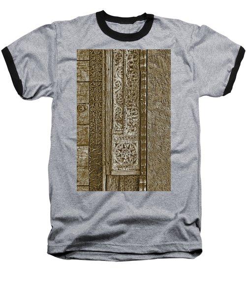 Baseball T-Shirt featuring the photograph Carving - 6 by Nikolyn McDonald