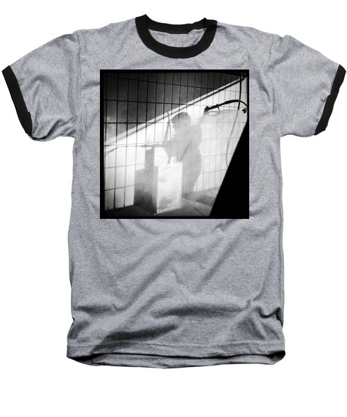 Carwash Shadow And Light Baseball T-Shirt