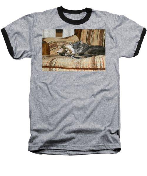 Baseball T-Shirt featuring the photograph Cas-3 by Ellen Lentsch