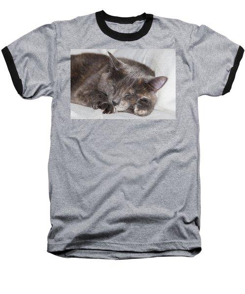 Baseball T-Shirt featuring the photograph Cas-4 by Ellen Lentsch