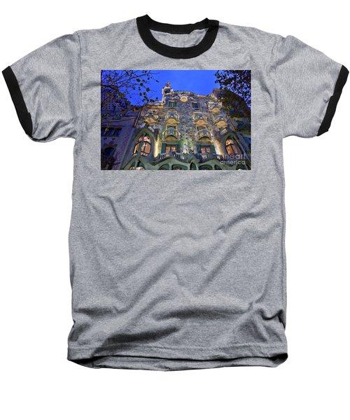 Casa Batllo In Barcelona Baseball T-Shirt