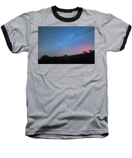 Baseball T-Shirt featuring the photograph Casa Dos Flindstones by Bruno Rosa