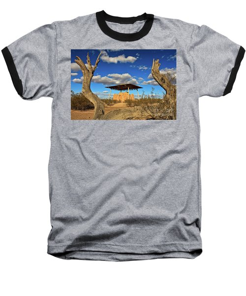 Casa Grande Ruins National Monument Baseball T-Shirt