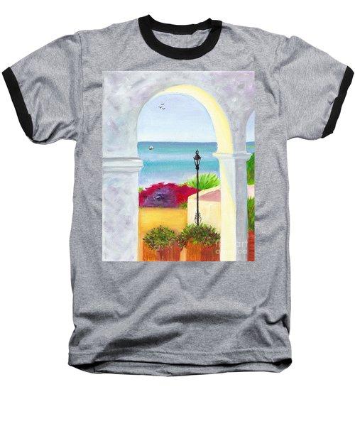 Casa Romantica View Baseball T-Shirt