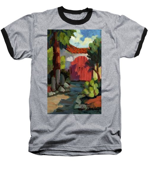 Casa Tecate Gate Baseball T-Shirt by Diane McClary