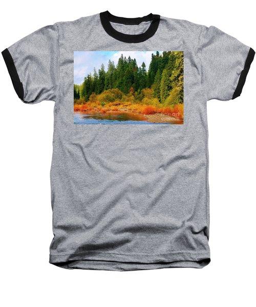 Cascade Autumn Baseball T-Shirt