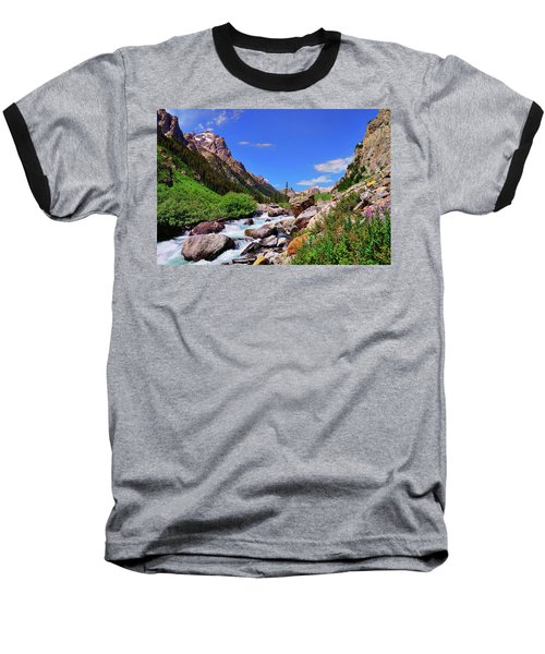 Cascade Canyon Baseball T-Shirt