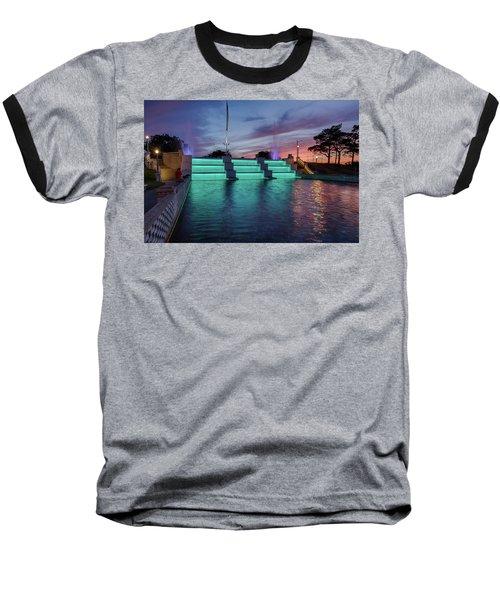 Cascade Falls Jackson Mi 1 Baseball T-Shirt