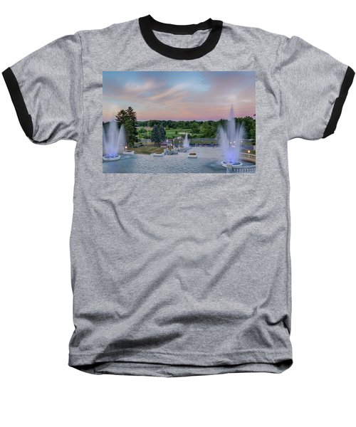 Cascade Falls Jackson Mi 2 Baseball T-Shirt