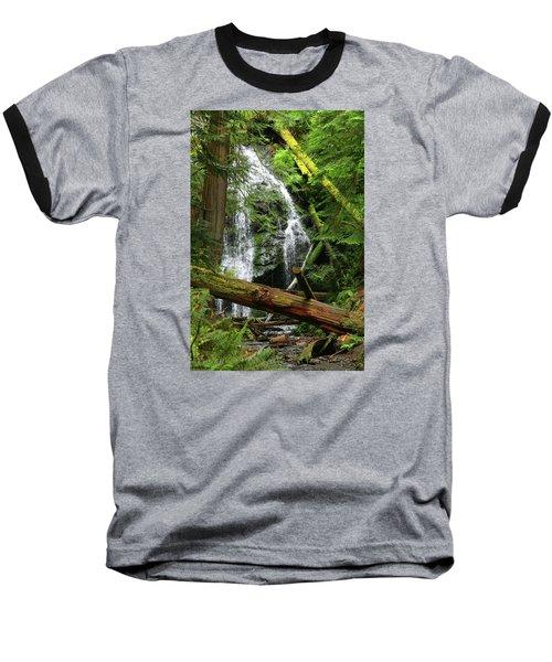 Cascade Falls - Orcas Island Baseball T-Shirt
