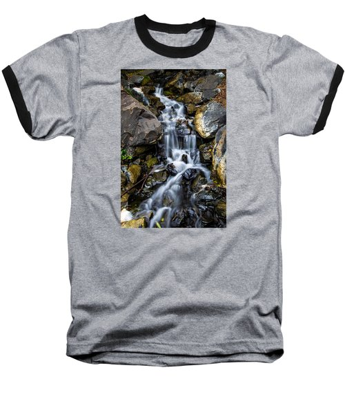 Baseball T-Shirt featuring the photograph Cascade by Keith Hawley