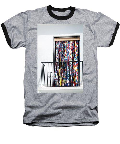 Cascade Of Colour Baseball T-Shirt