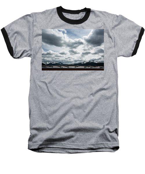 Baseball T-Shirt featuring the photograph Cascade Outlook Manning Provincial Park by Elvira Butler