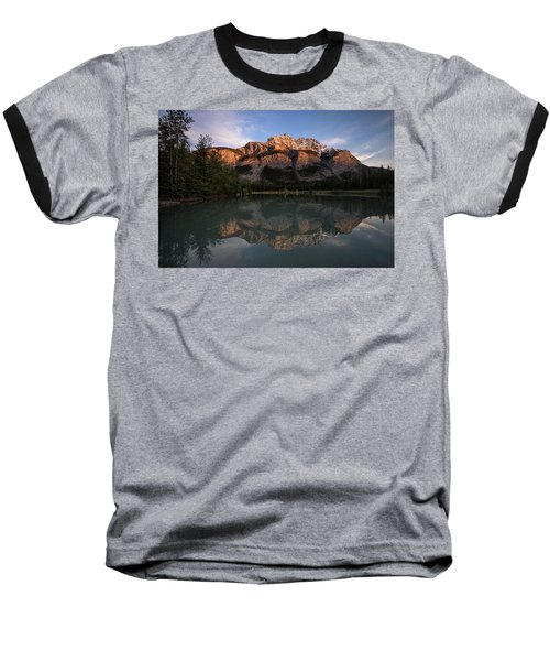 Cascade Ponds Reflections Baseball T-Shirt