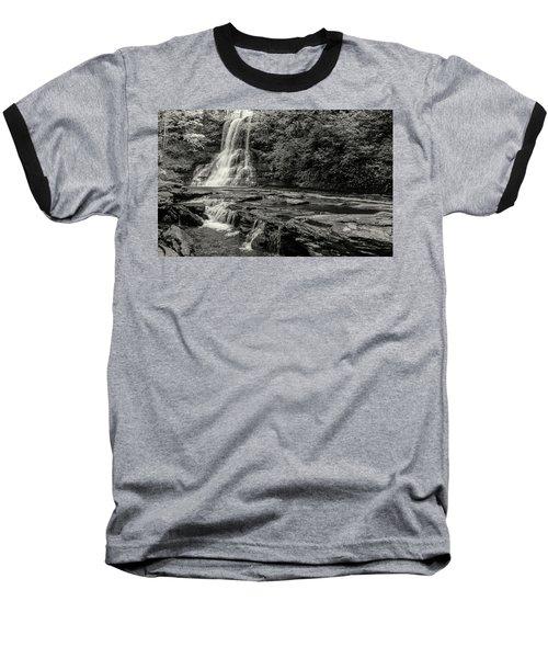 Cascades Waterfall Baseball T-Shirt