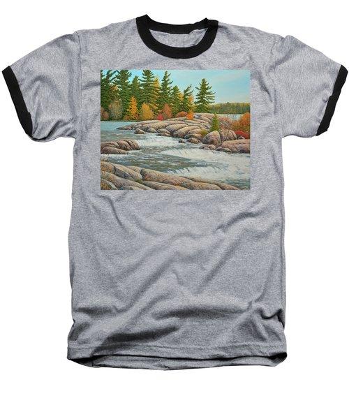 Cascading Flow Baseball T-Shirt