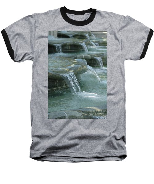 Cascading Fountain Baseball T-Shirt