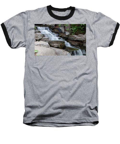 Baseball T-Shirt featuring the photograph Cascading by Fran Riley