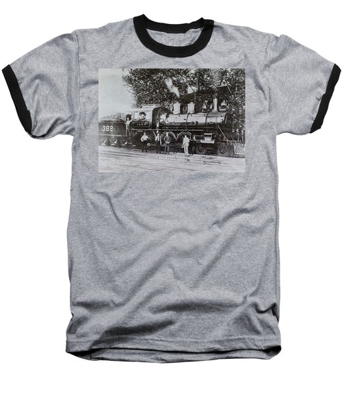 Casey Jones Engine  Baseball T-Shirt