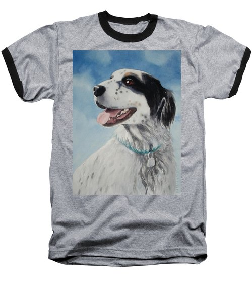 Baseball T-Shirt featuring the painting Casey by Marilyn Jacobson