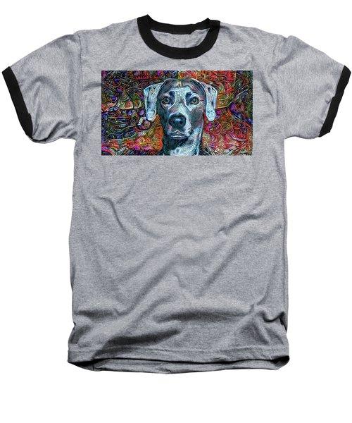 Cash The Blue Lacy Dog Baseball T-Shirt