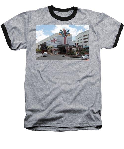 Casino Royale St. Maarten Baseball T-Shirt