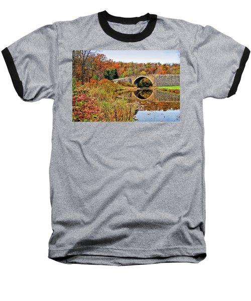 Casselman River Bridge Baseball T-Shirt