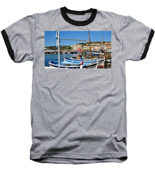 Cassis Harbor Baseball T-Shirt