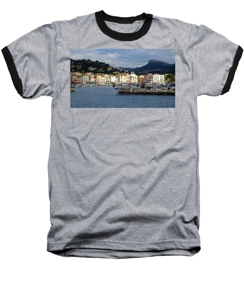 Cassis Town And Harbor Baseball T-Shirt