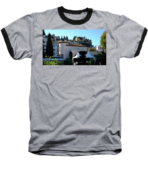 Cassis Town View Baseball T-Shirt