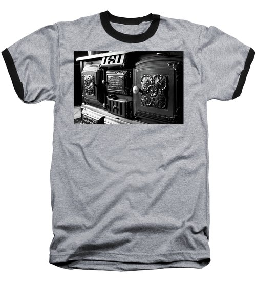 Baseball T-Shirt featuring the photograph Cast Iron Character by Greg Fortier