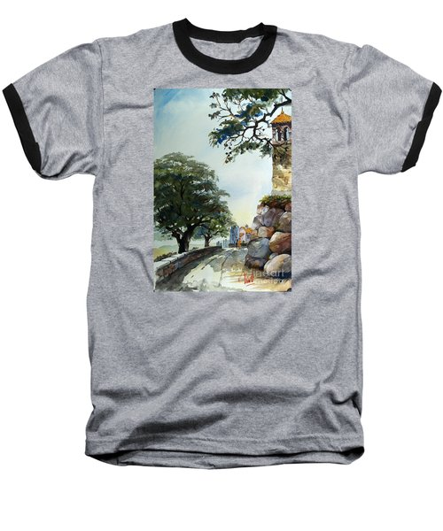 Castel At Borgo Rapale Baseball T-Shirt
