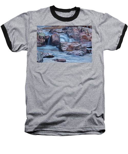 Caster River Shut-in Baseball T-Shirt by Robert Charity