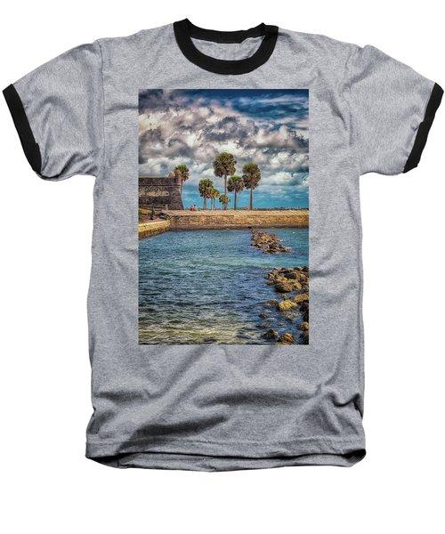 Castillo De La Paz Baseball T-Shirt