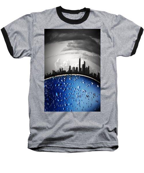 Casting Shadows Baseball T-Shirt