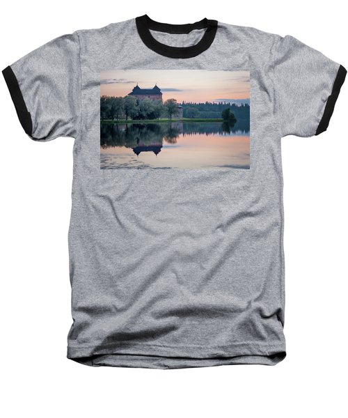 Castle After The Sunset Baseball T-Shirt by Teemu Tretjakov