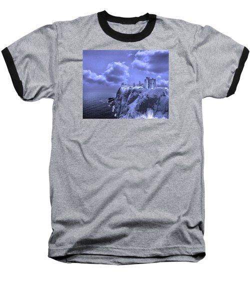 Castle Blue Baseball T-Shirt