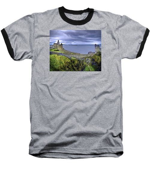Castle By The Sea Baseball T-Shirt