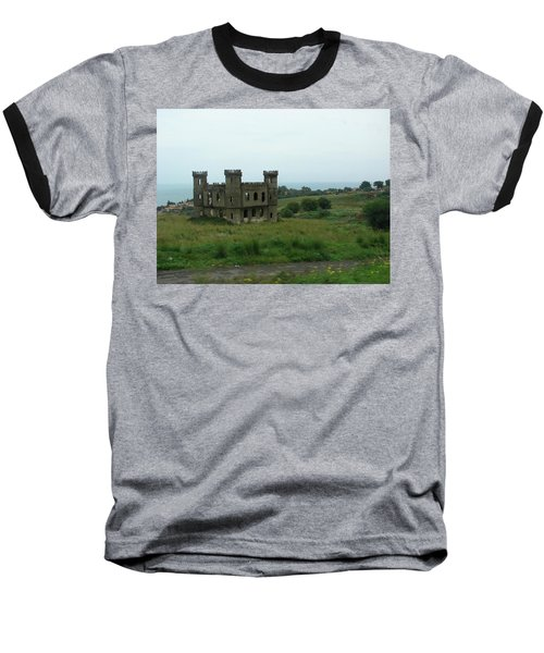 Castle Catania Sicily Baseball T-Shirt