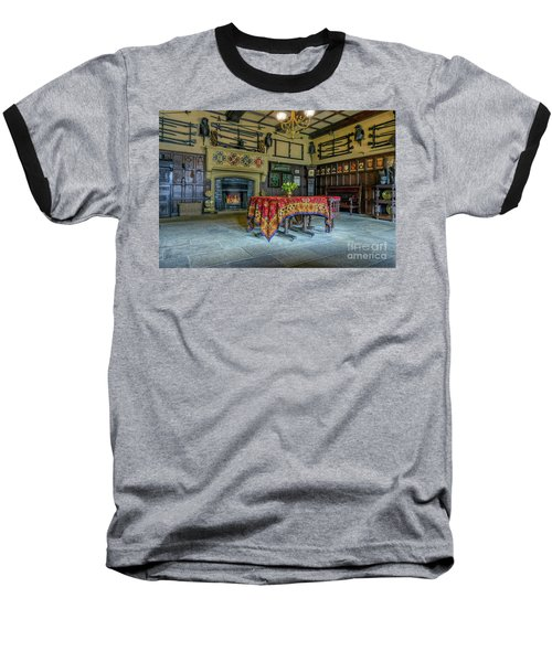 Baseball T-Shirt featuring the photograph Castle Dining Room by Ian Mitchell