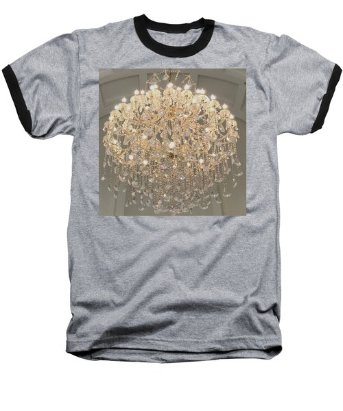 Castle Front Hall 01 Baseball T-Shirt