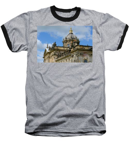 Castle Howard Roofline Baseball T-Shirt