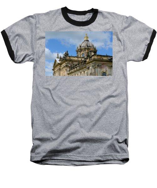 Castle Howard Roofline Baseball T-Shirt