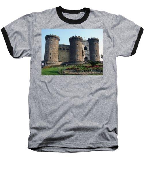 Castle Nuovo Naples Italy Baseball T-Shirt