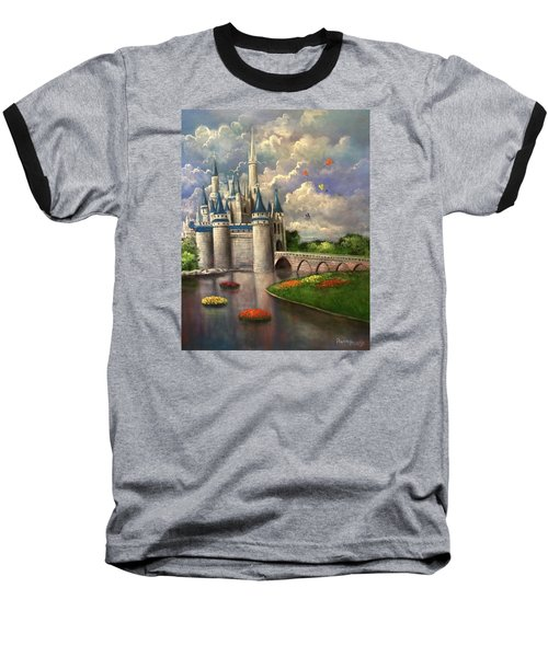 Castle Of Dreams Baseball T-Shirt