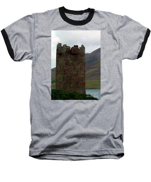 Castle Of The Pirate Queen Baseball T-Shirt by Patricia Griffin Brett