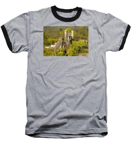 Castle On A Rock Baseball T-Shirt